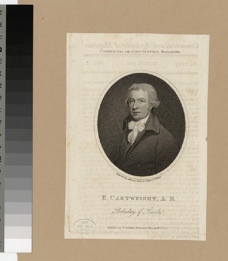 Portrait of E. Cartwright