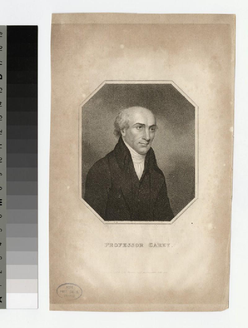 Portrait of Prof Carey (WAHP21936)