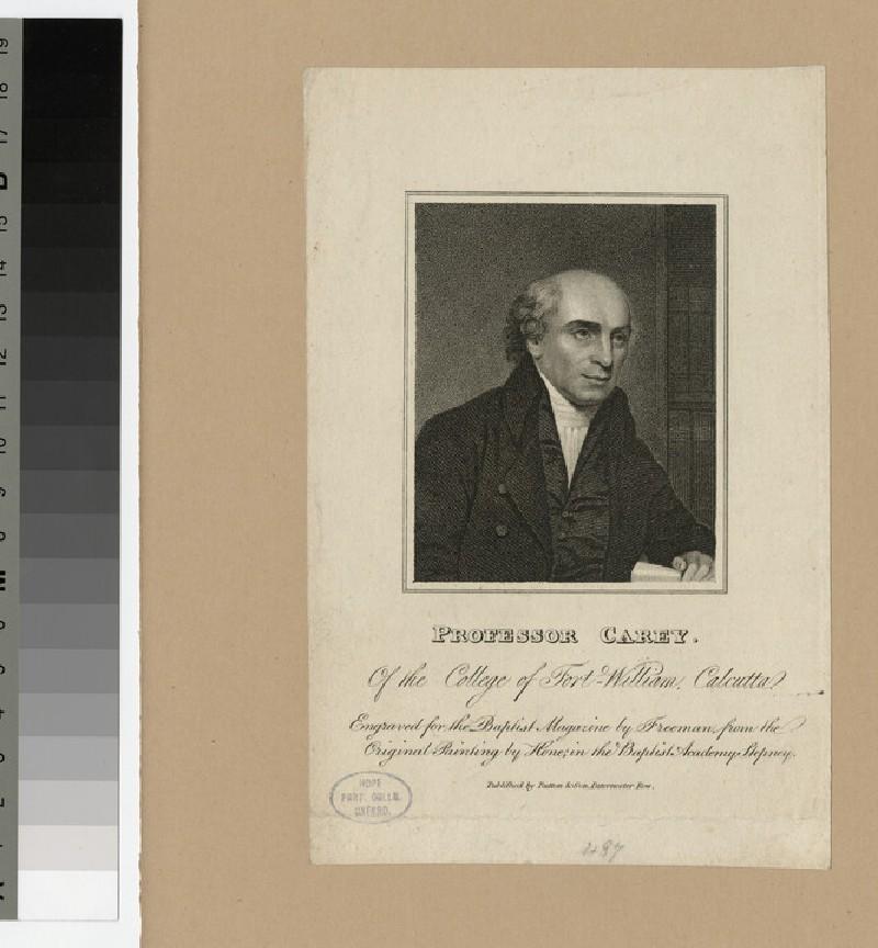 Portrait of Professor Carey