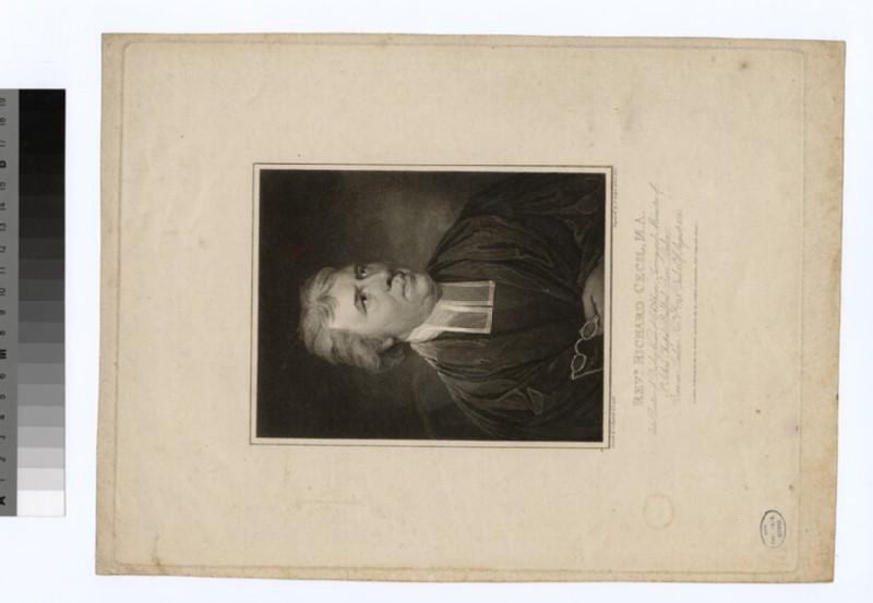 Portrait of Rev.R. Cecil (WAHP21946)