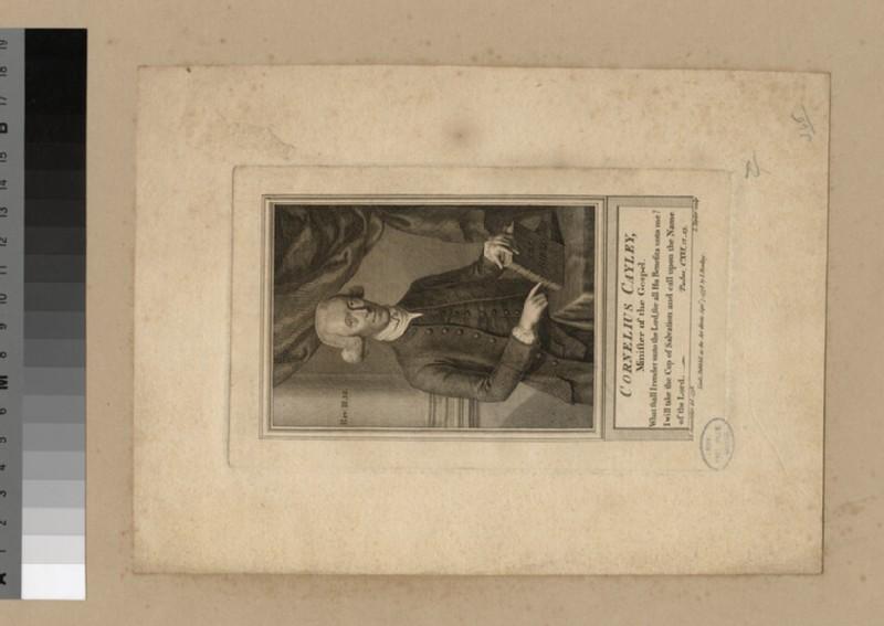 Portrait of C. Cayley (WAHP21950)