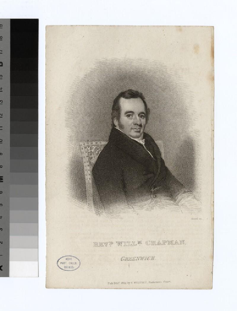 Portrait of W. Chapman (WAHP21989)