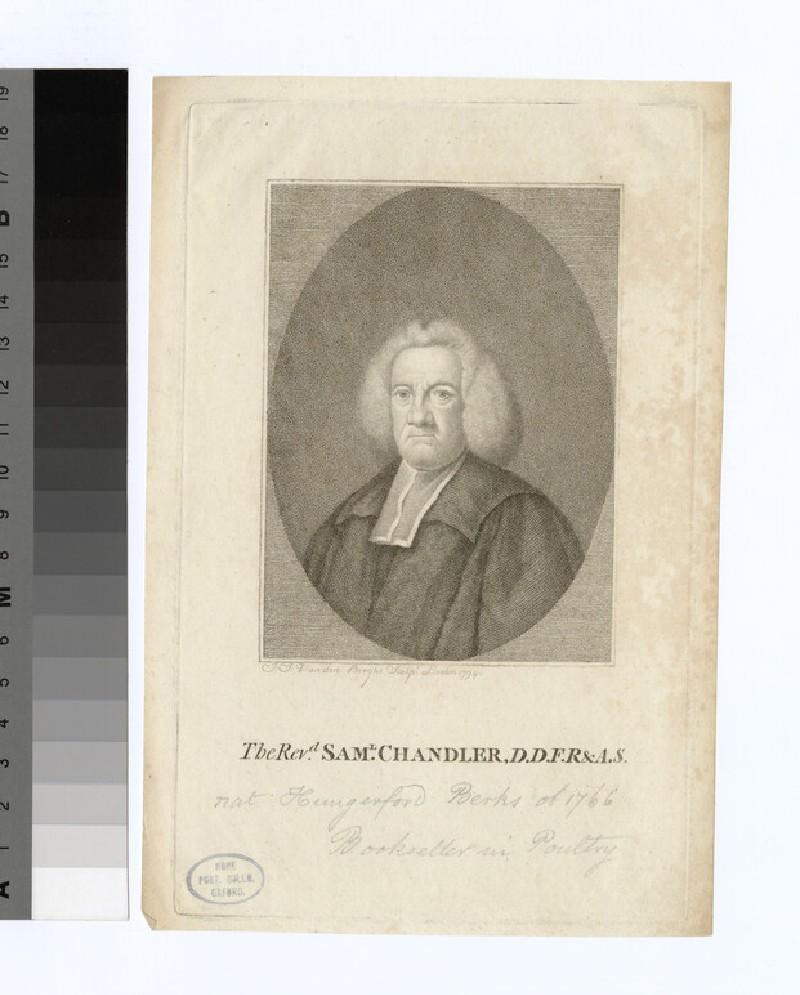 Portrait of S. Chandler (WAHP21996)