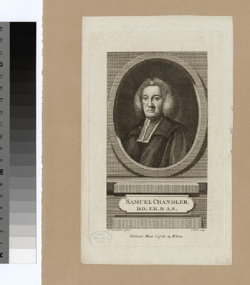 Portrait of S. Chandler