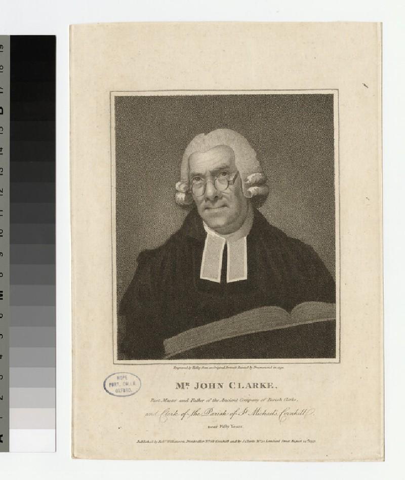 Portrait of J. Clarke (WAHP22017)