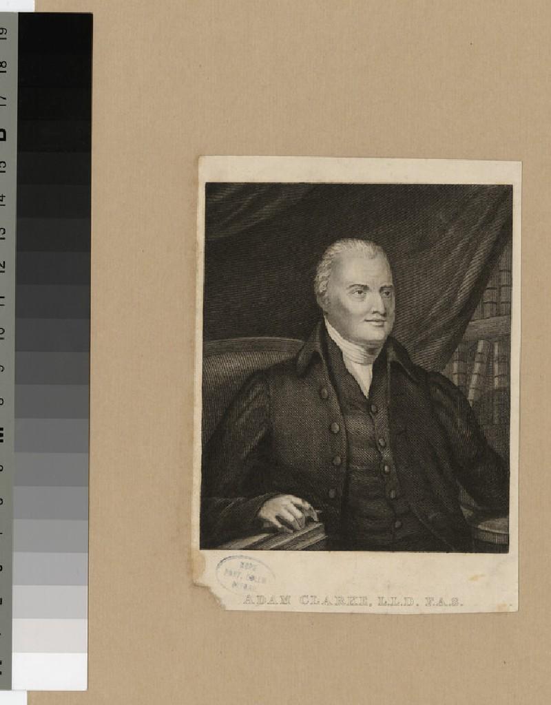 Portrait of Adam Clarke (WAHP22033)