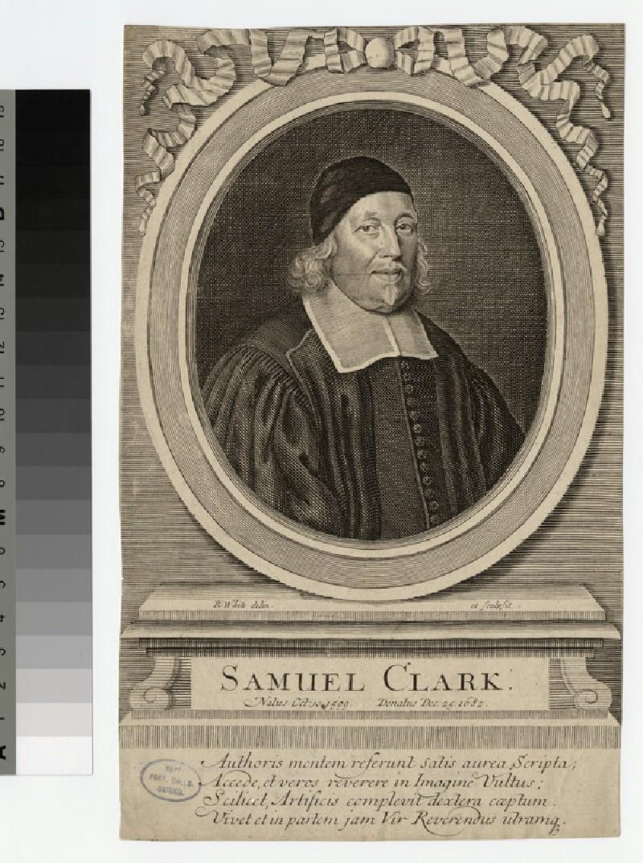 Portrait of S. Clarke