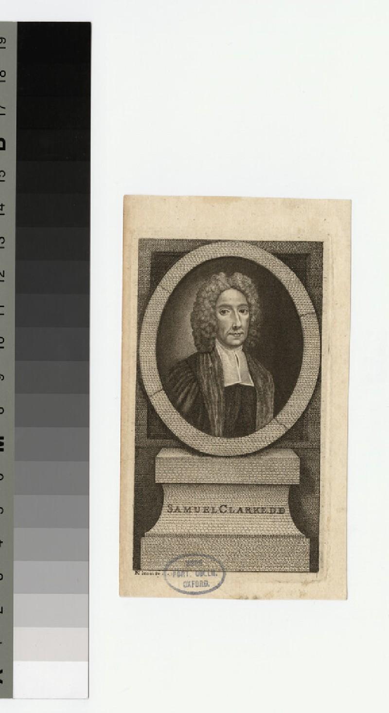 Portrait of Samuel Clarke (WAHP22061)