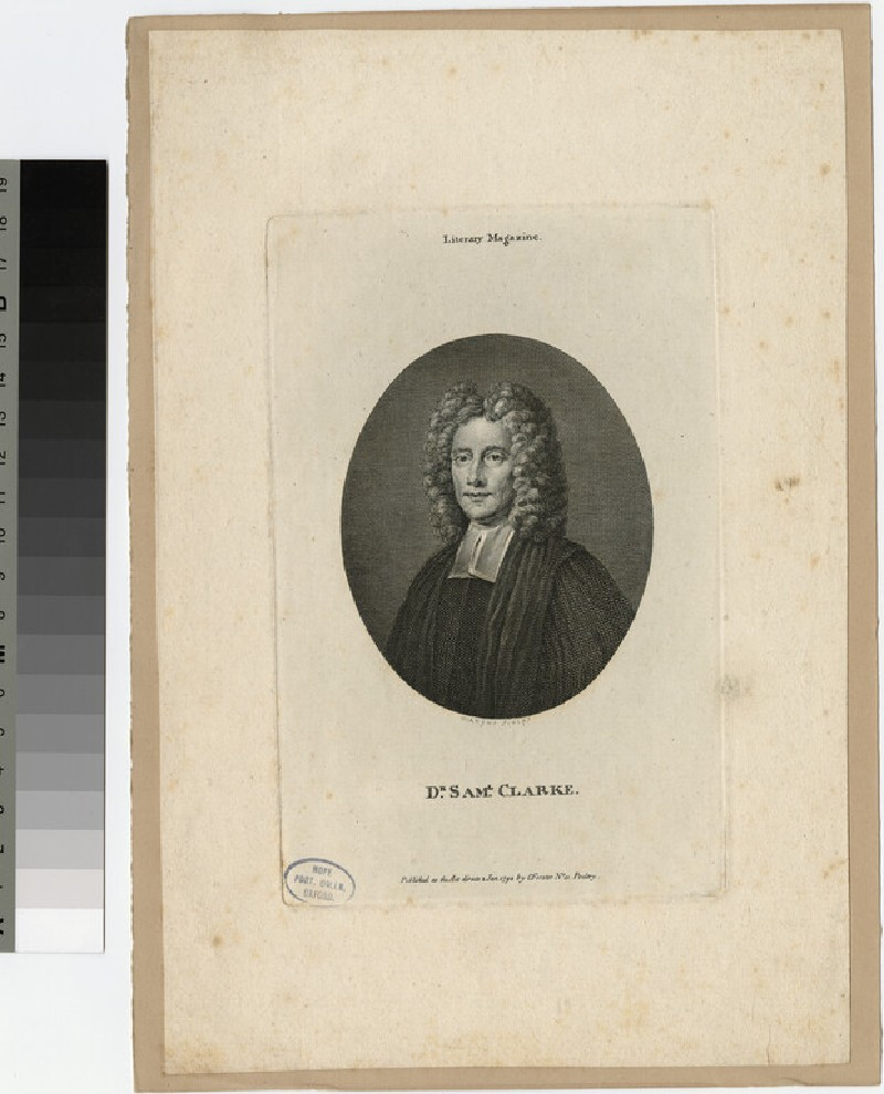 Portrait of S. Clarke (WAHP22065)