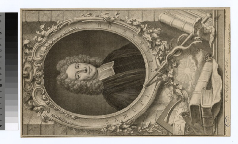 Portrait of S. Clarke (WAHP22075)