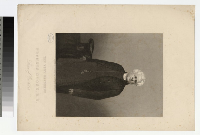 Portrait of Very Revd F. Close (WAHP22078)