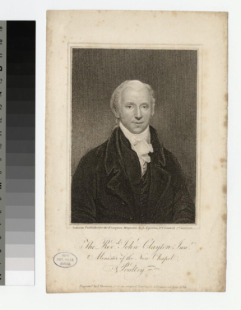 Portrait of John Clayton