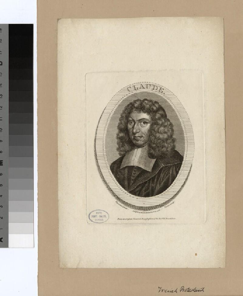 Portrait of J. Claude (WAHP22094)
