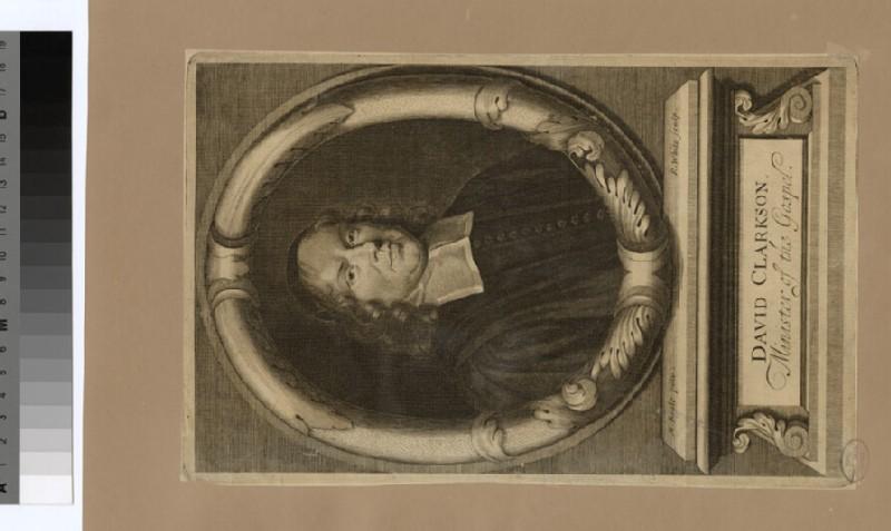 Portrait of D. Clarkson