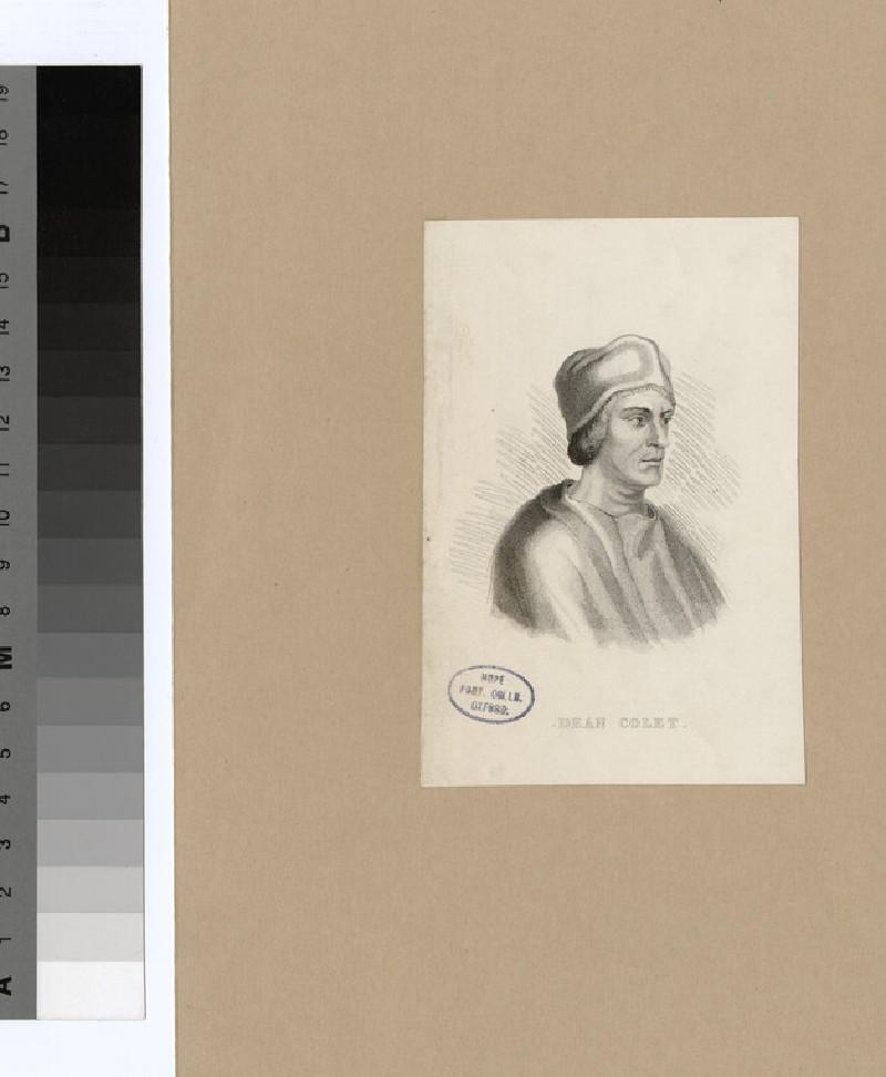 Portrait of J. Colet (WAHP22104)