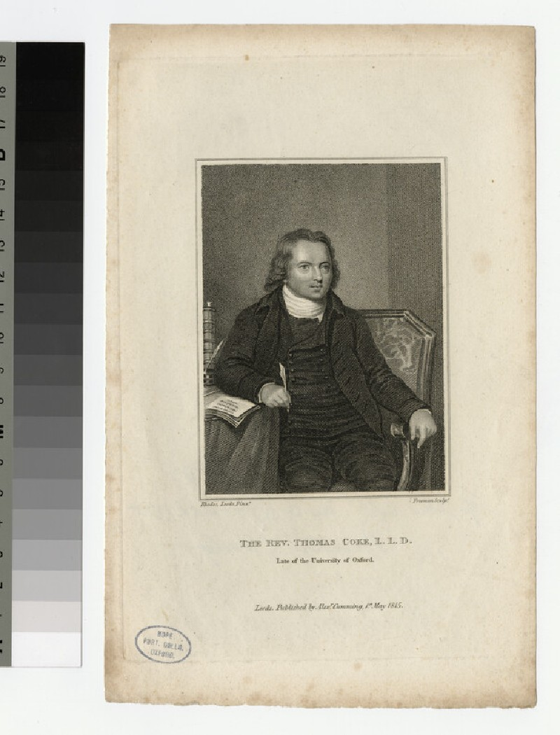 Portrait of Thomas Coke (WAHP22125)