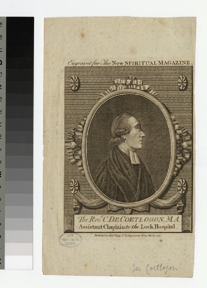 Portrait of de Coetlogon