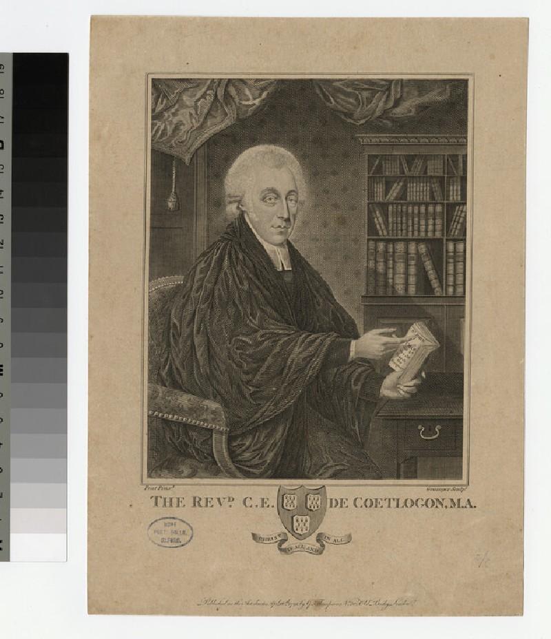 Portrait of Charles Edward de Coetlogon