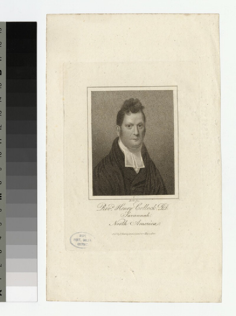 Portrait of Henry Collock