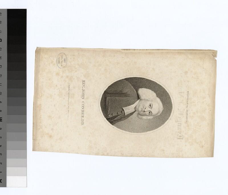 Portrait of J. Conder (WAHP22168)