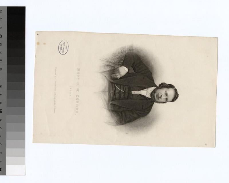 Portrait of G. W. Conder