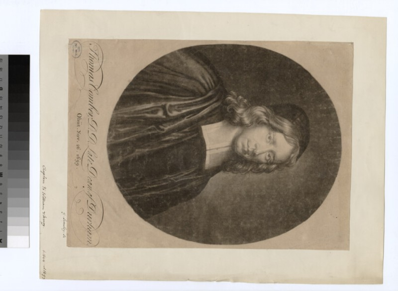 Portrait of T. Comber (WAHP22175)