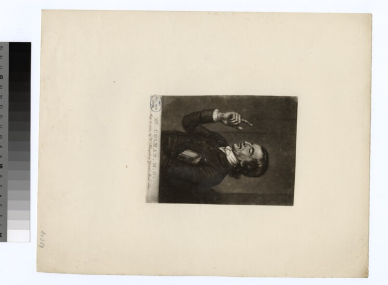 Portrait of Mr Colman