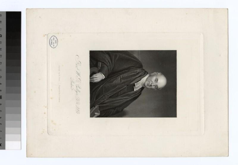 Portrait of W. B. Collyer