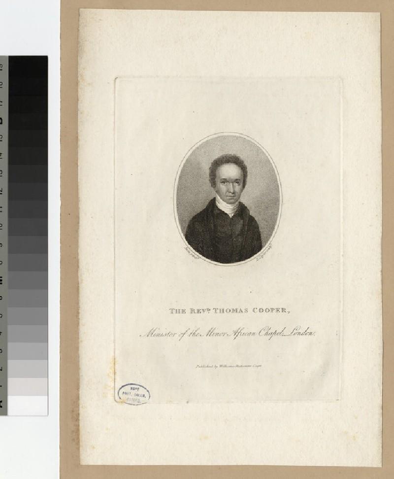 Portait of Thomas Cooper