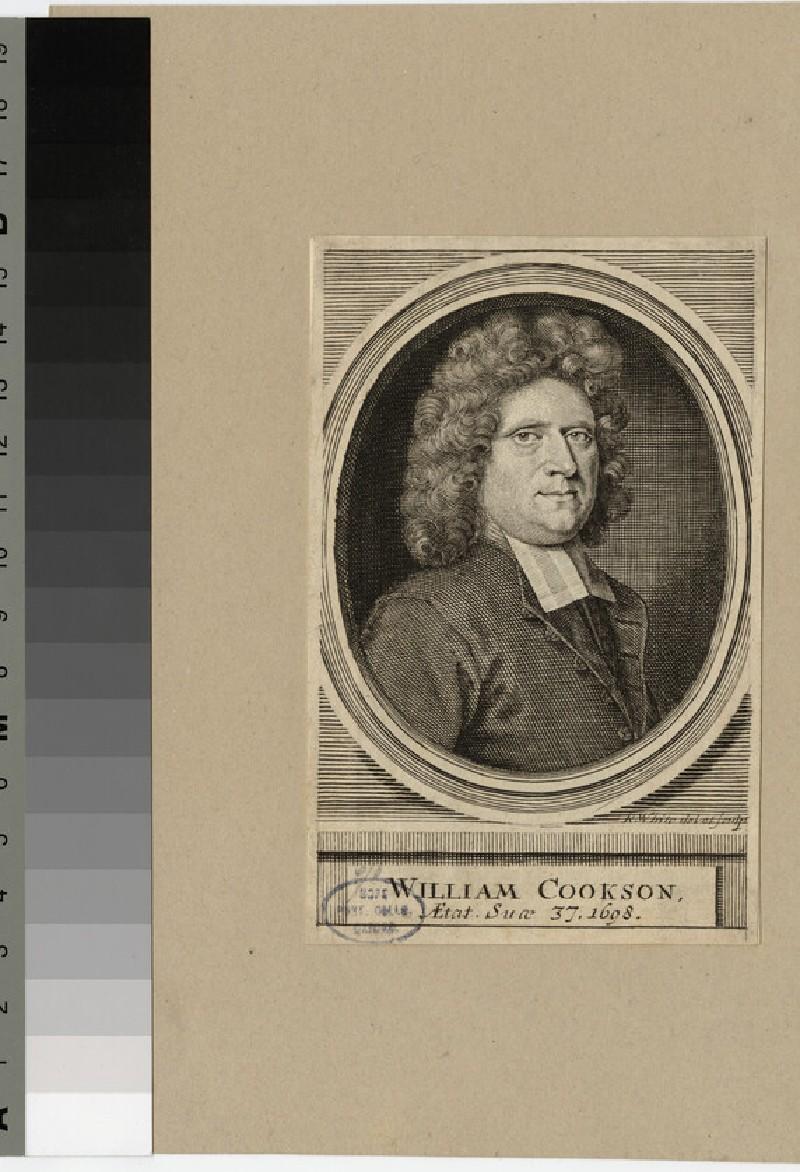 Portrait of Wm Cookson