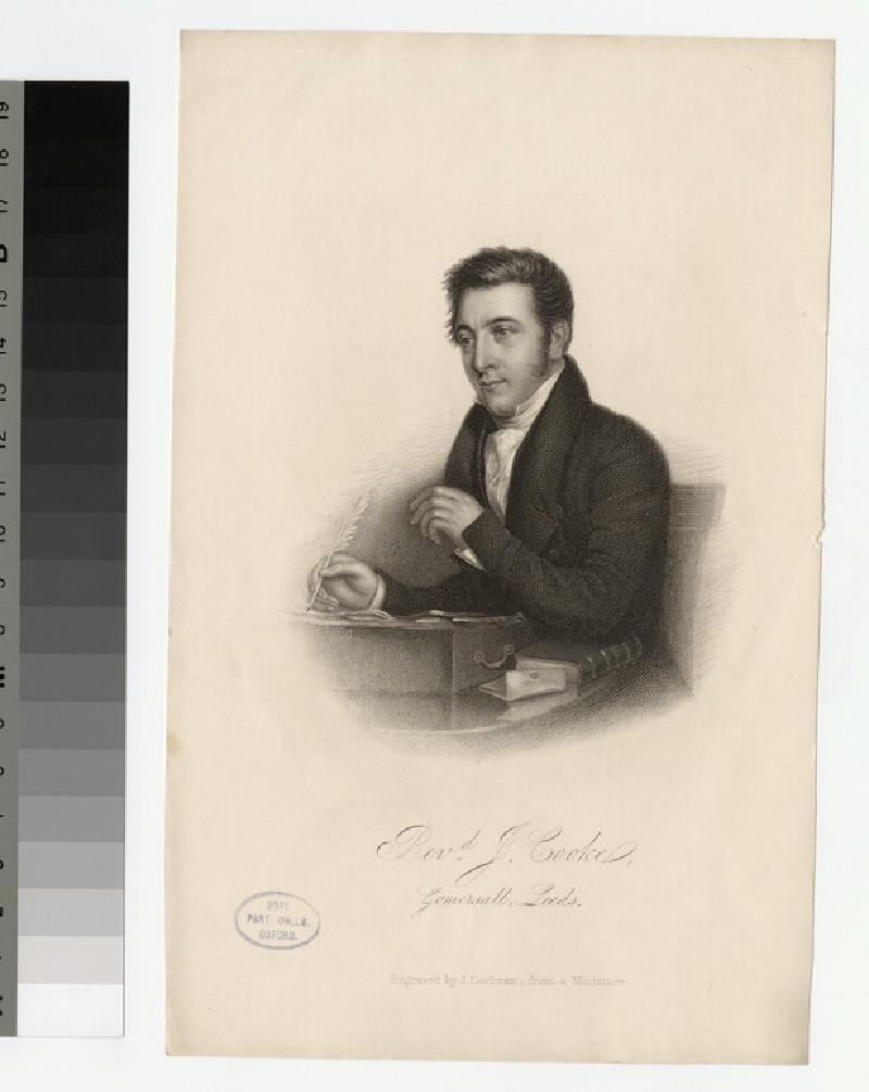 Portrait of J. Cooke