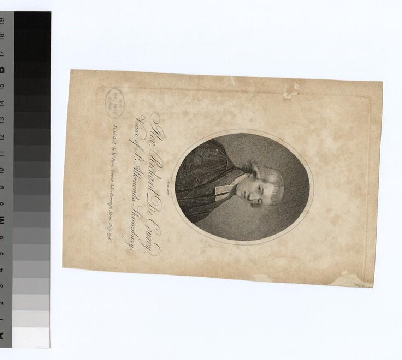 Portrait of R. de Courcy
