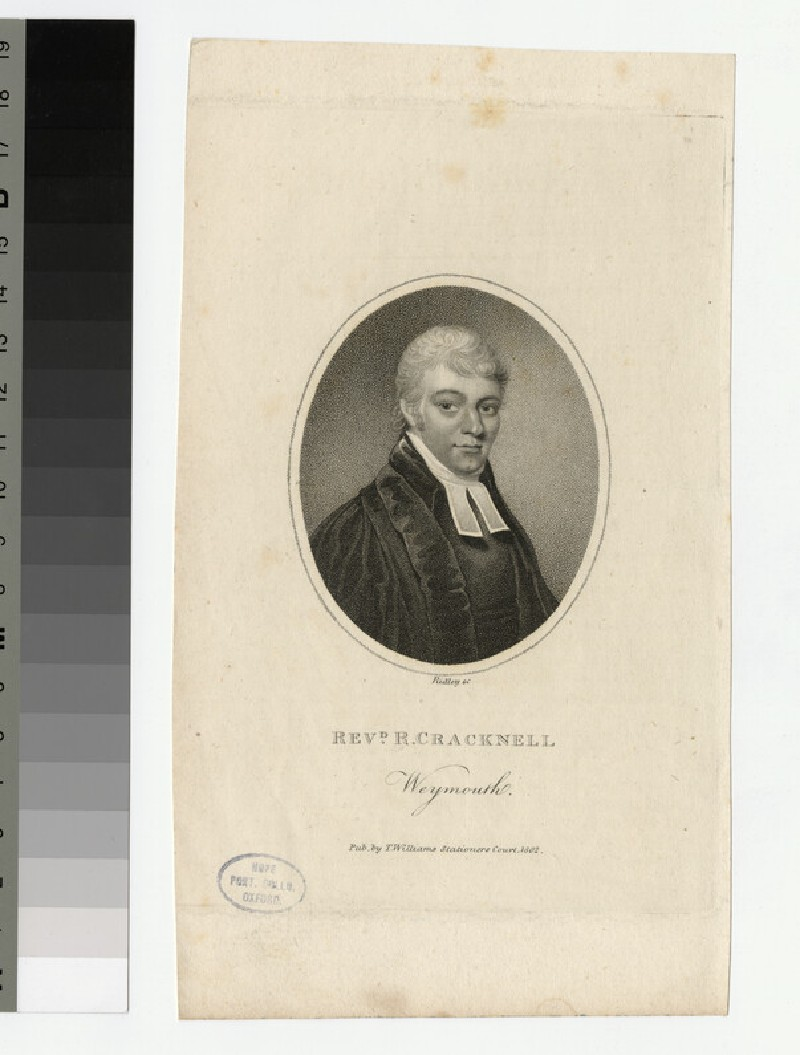 Portrait of R. Cracknell (WAHP22267)