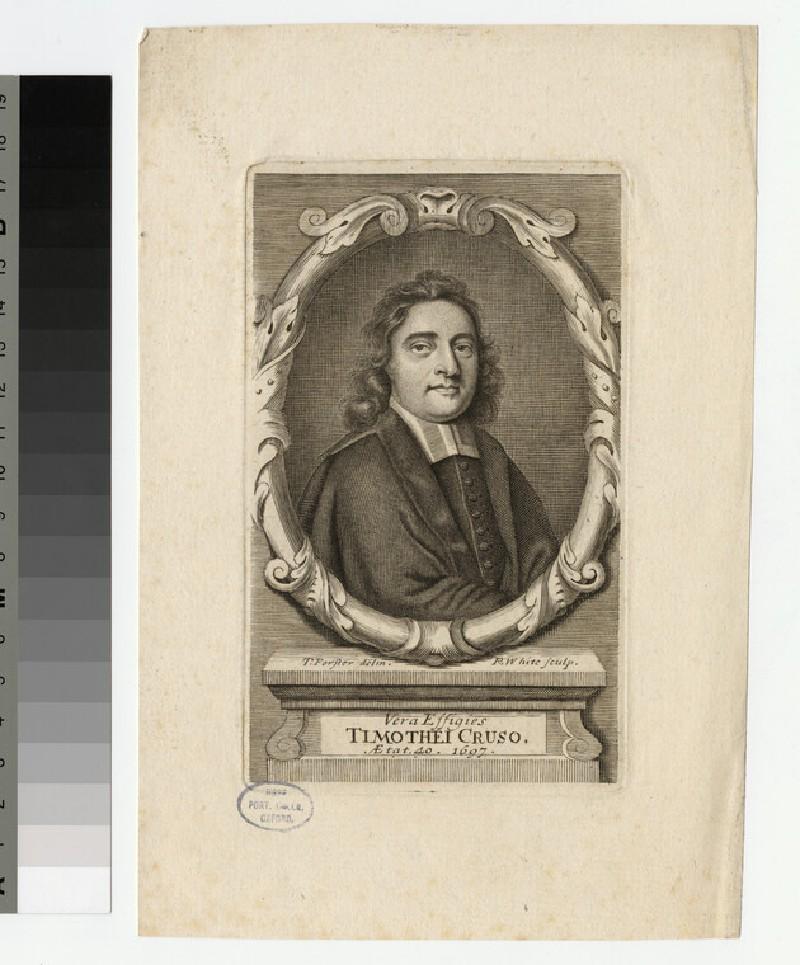 Portrait of Timothy Cruso