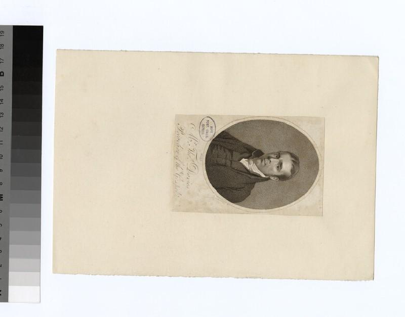 Portrait of T. Davies (WAHP22334)