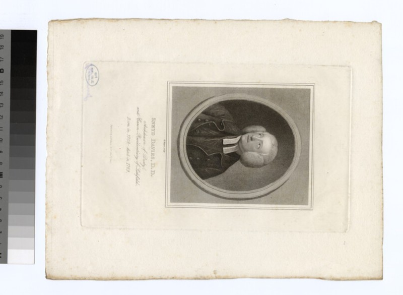 Portrait of Revd Dr S. Davies