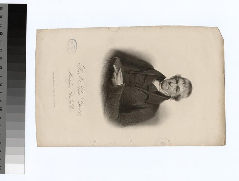 Portrait of J. Davies (WAHP22344)