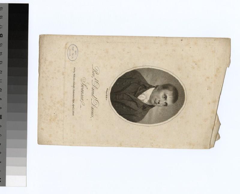 Portrait of D. Davies