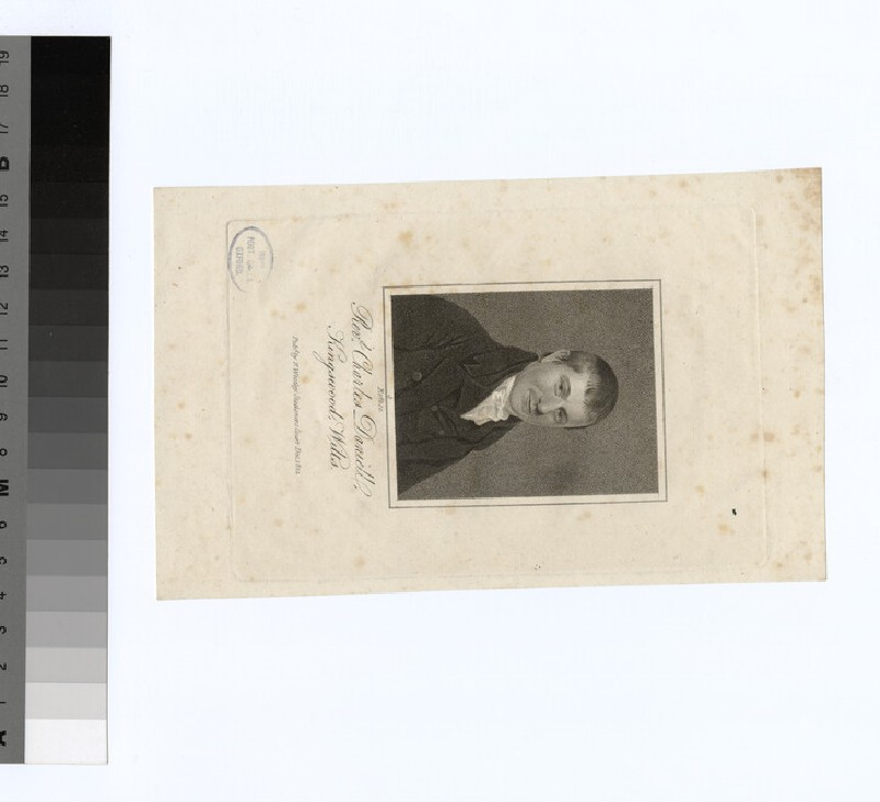 Portrait of C. Daniell