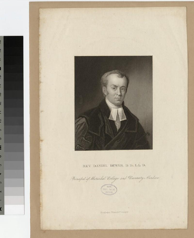 Portrait of D. Dewar (WAHP22367)