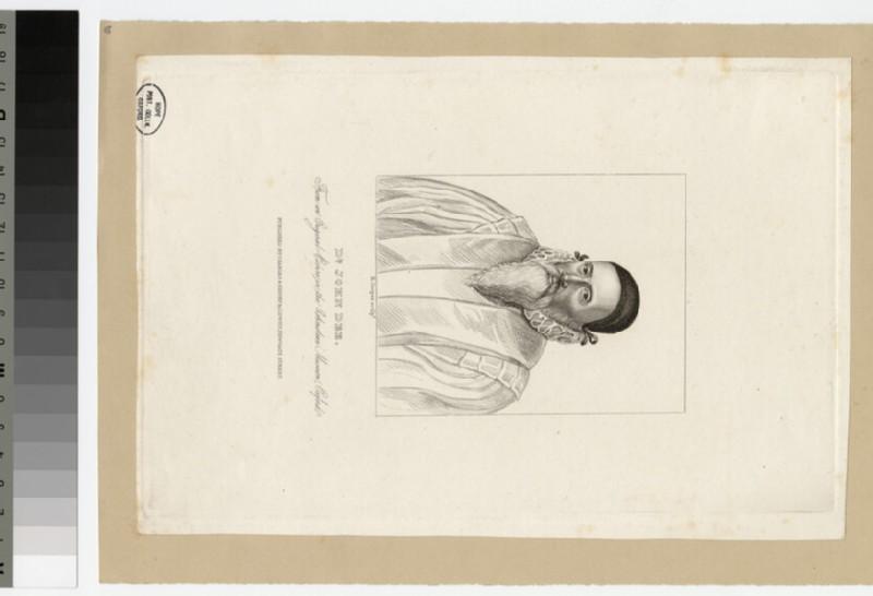 Portrait of J. Dee (WAHP22387)