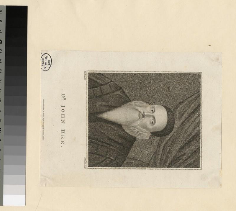 Portrait of J. Dee