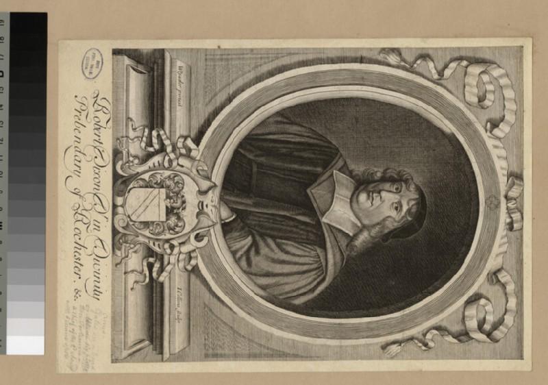 Portrait of Revd Dr R. Dixon (WAHP22404)