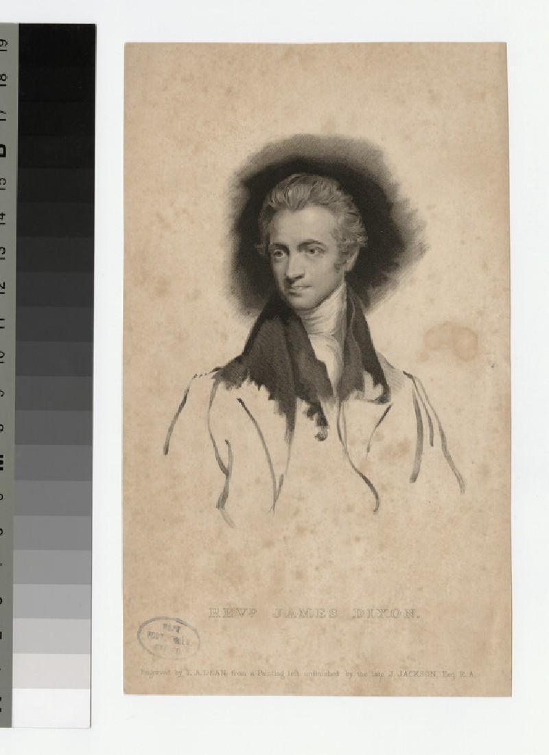 Portrait of J. Dixon