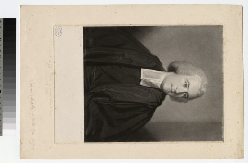 Portrait of Revd the Hon.W. Digby