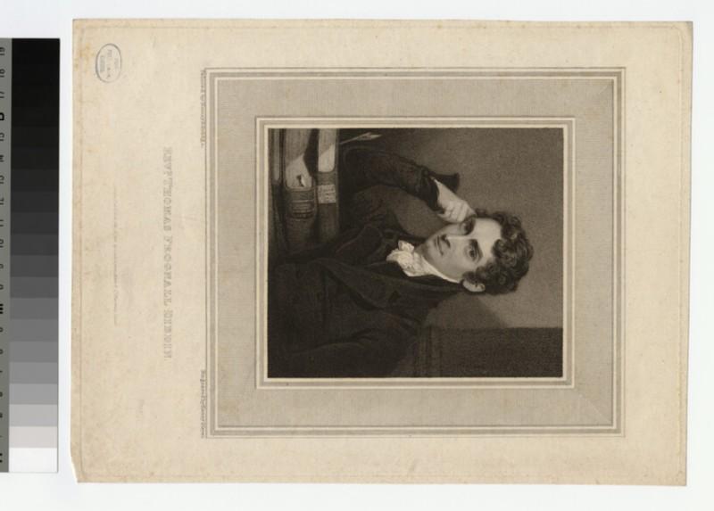 Portrait of T. F. Dibdin