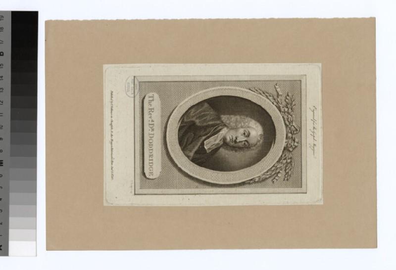 Portrait of P. Doddridge (WAHP22428)