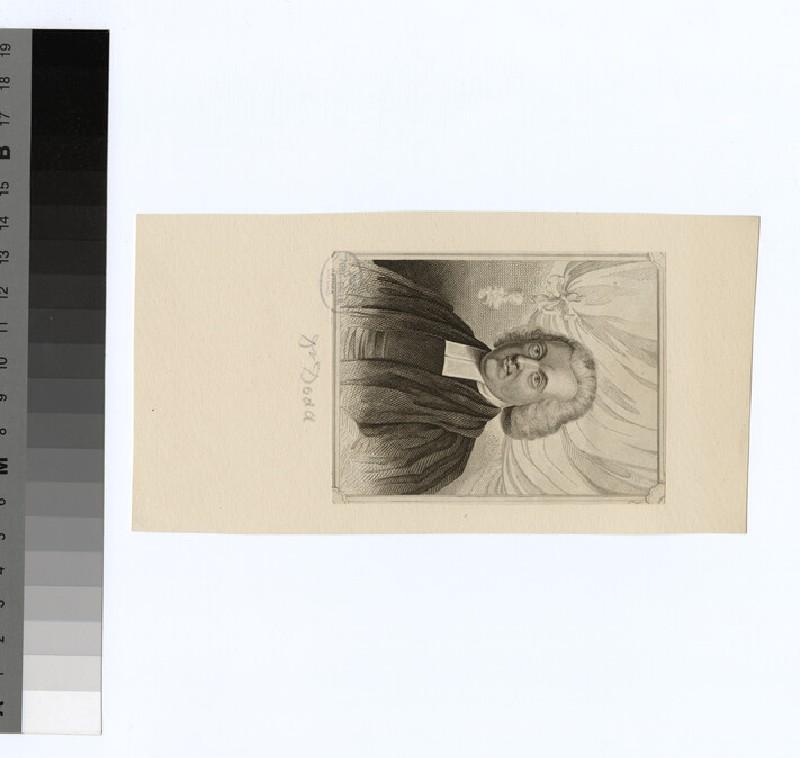 Portrait of W. Dodd