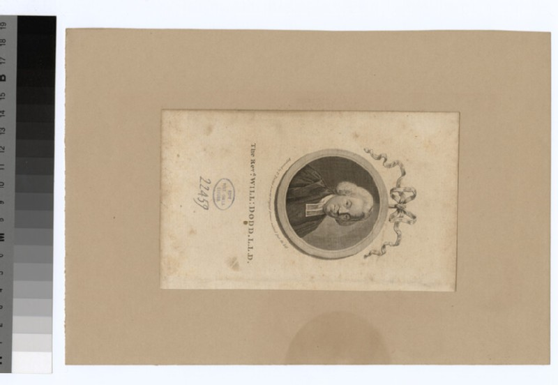 Portrait of W. Dodd (WAHP22459)