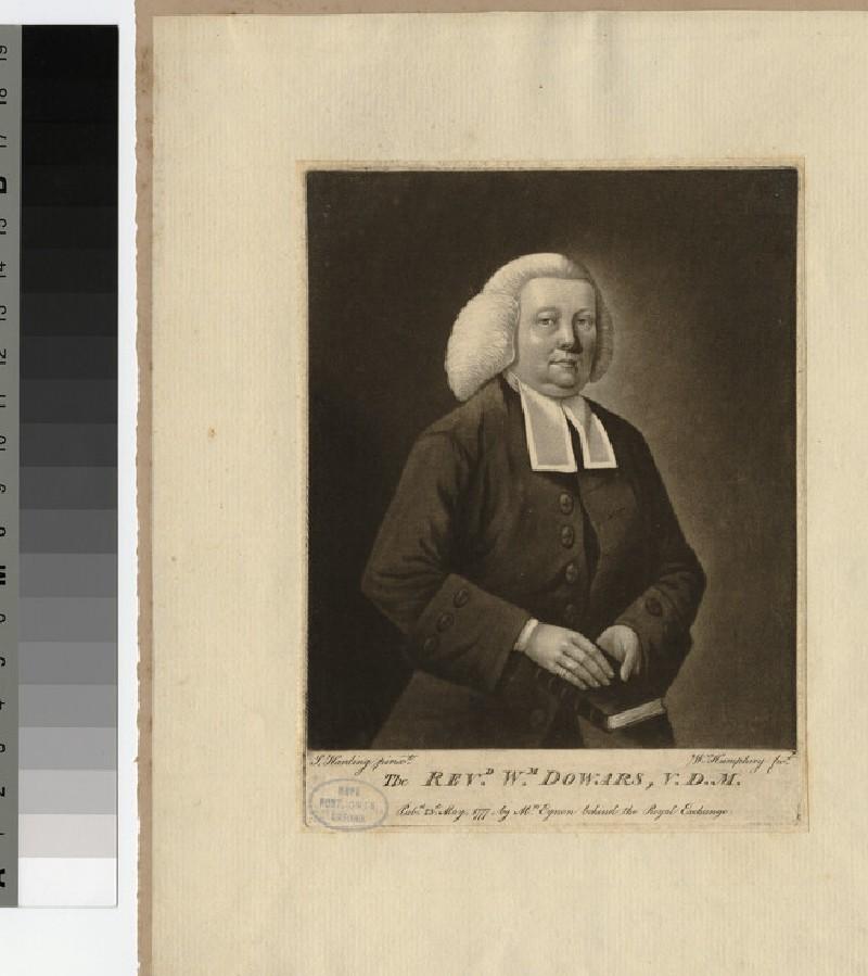 Portrait of W. Dowars